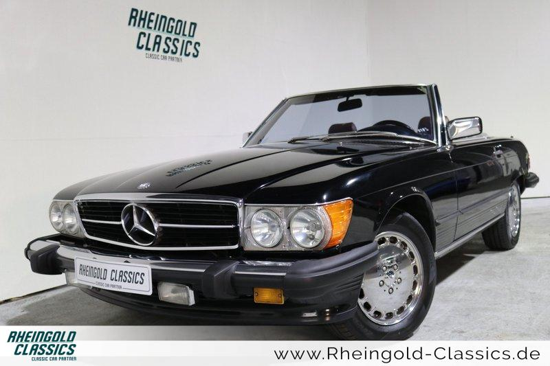 mercedes benz sl 560 oldtimer kaufen in k ln int nr 823. Black Bedroom Furniture Sets. Home Design Ideas
